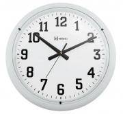 Relógio De Parede 40 Cm Branco Fosco Grande Herweg
