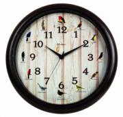 Relógio De Parede Decorativo Canto Dos Pássaros Herweg 6691-34