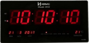 Relógio De Parede Digital Herweg Ref: 6464-034 Preto