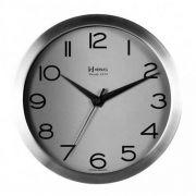 Relógio Parede Herweg 6715 079 Aluminio Escovado 30cm