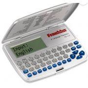 Tradutor Eletrônico Franklin Tg115 8 Idiomas Português, Inglês, Espanhol, Italiano, Alemão, Francês,