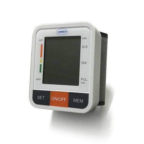 Aparelho De Pressão Digital De Pulso Supermedy