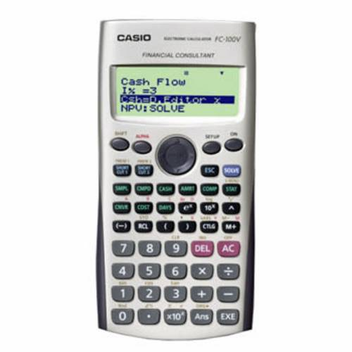 Calculadora Financeira Casio Fc-100v
