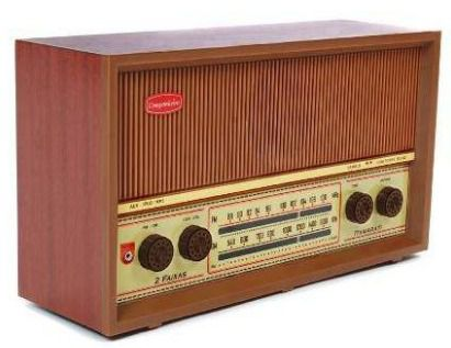 Rádio Antigo Retrô Companheiro Itamarati Faixas 2 Faixas Fm E Am Crmif-21