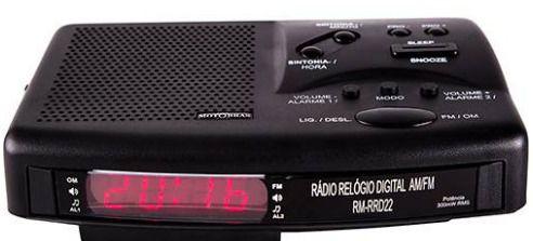 Rádio Relógio Rm-rrd22 - Motobras