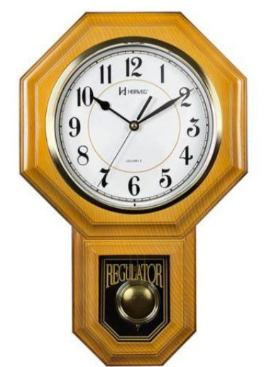 Relógio 5304 Parede Carrilhão Gravatinha Pendulo Herweg