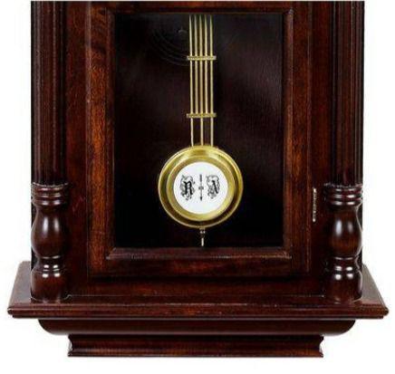 Relógio De Parede Carrilhão Pendulo Madeira Cordas 5355