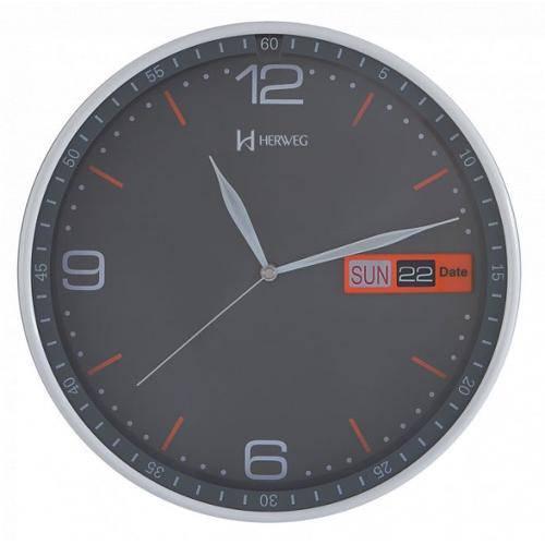 Relógio De Parede Herweg Calendário 6415 024 Cz
