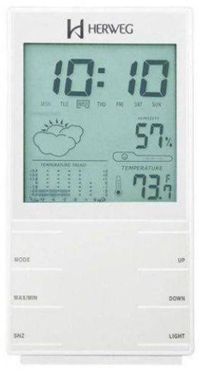 Relógio Despertador Digital Moderno Herweg 2969-242