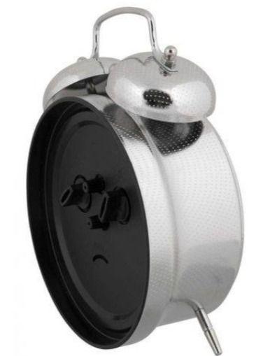 Relógio Despertador Mecânico Clássico Herweg 2380-207