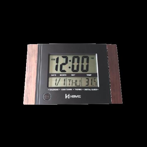 Relógio Digital Parede ou de Mesa Herweg 6438