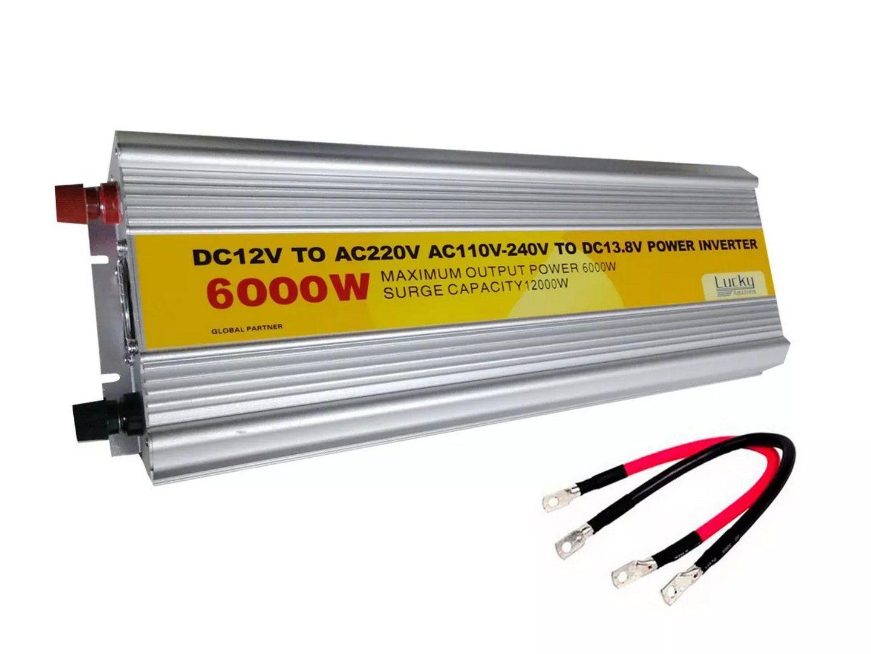 Inversor Conversor Transformador Energia 6000w 12v  220