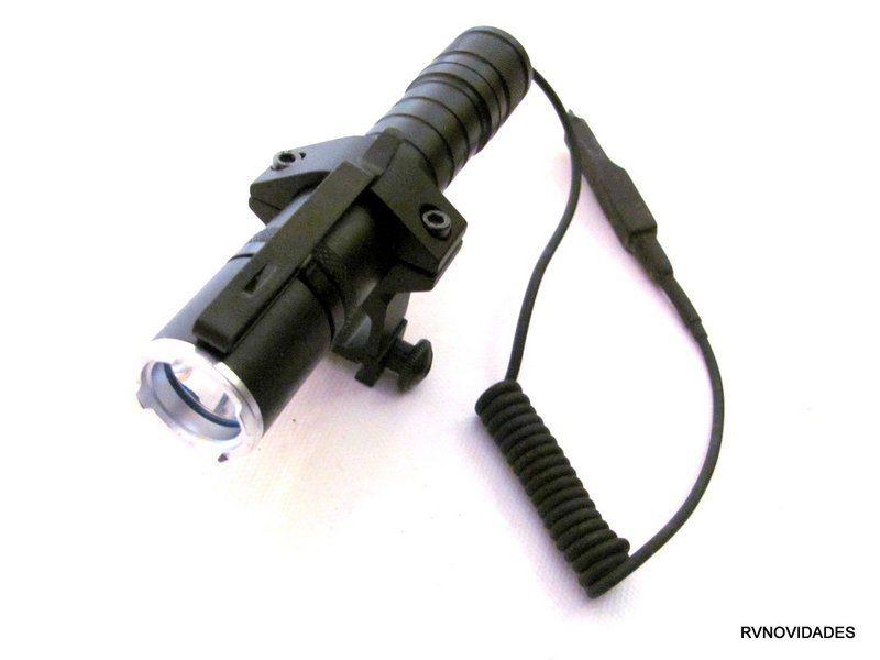 Lanterna Tática Com Acionador Remoto
