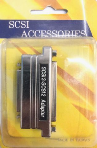 ADAPTADOR SCSI3 FEMEA PARA SCSI2 FEMEA AS126 (SCSI3F-SCSI2F)