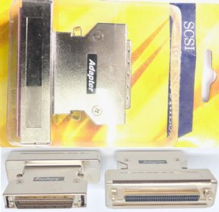 ADAPTADOR SCSI3 HD68 FEMEA PARA SCSI2 HD50 MACHO AS120 (SCSI3F-SCSI2M)