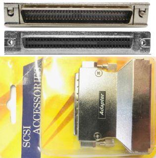 ADAPTADOR SCSI3 MACHO PARA SCSI3 FEMEA AS136 (SCSI3F-SCSI3M)