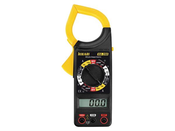 ALICATE AMPERIMETRO DIGITAL HA-266 21N032 HIKARI (HA266)