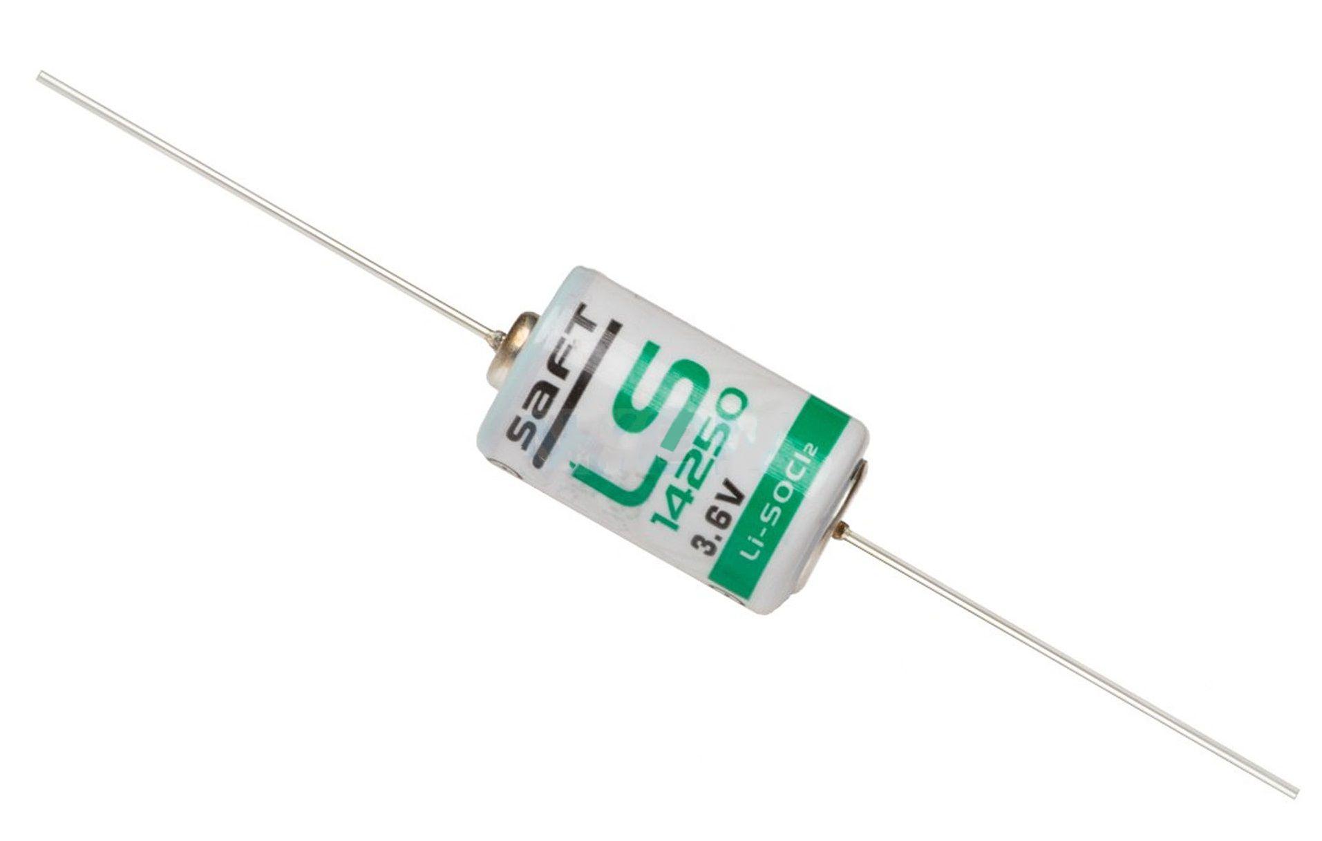 BATERIA DE LITHIUM 3,6V LS14250 AXIAL SAFT