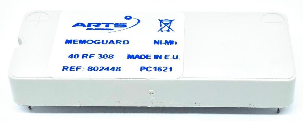 BATERIA MEMOGUARAD 3,6V 40RF308 SAFT