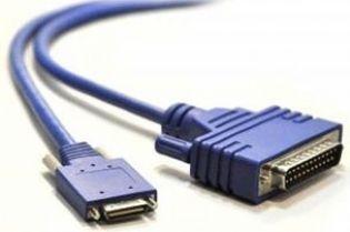 CABO PARA ROTEADOR DB25 MACHO X HD26 MACHO PF1063IV30 (DB25M-HD26M) COM 3 METROS