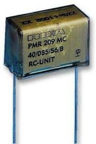 CAP. SUPRESSOR X2 0,22UF+100R PMR209MC6220M100