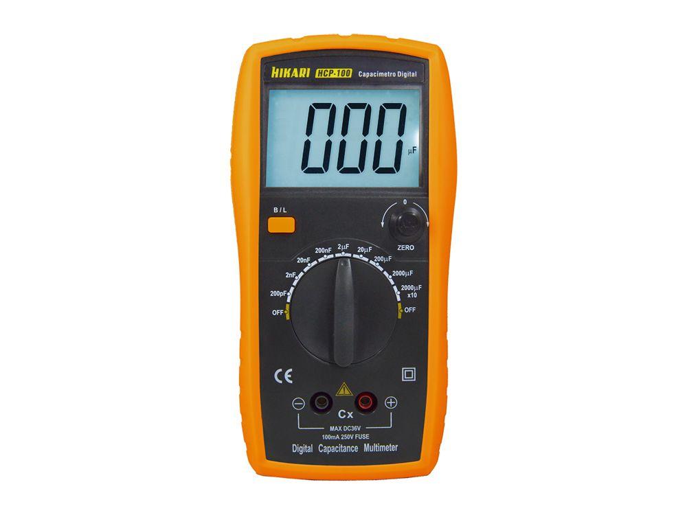 CAPACIMETRO DIGITAL HCP-100 21N075 HIKARI (HCP100)