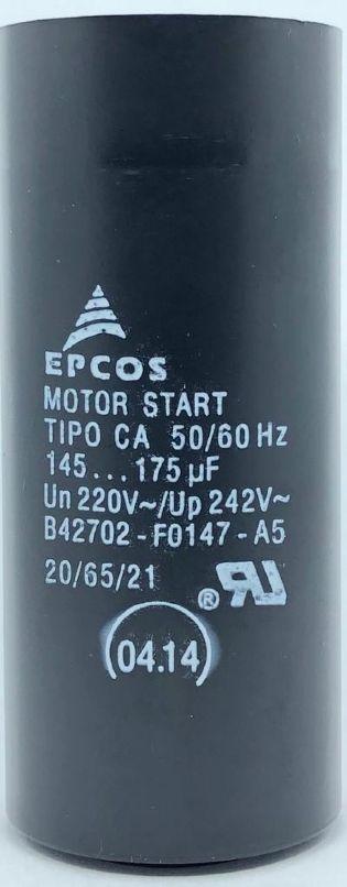 CAPACITOR 145-175UF 220VAC B42702-F0147-A5 EPCOS