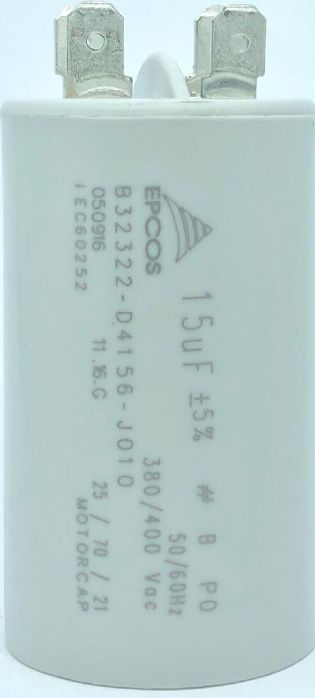 CAPACITOR 15UF 380V/400VAC B32322-D4156-J010 EPCOS