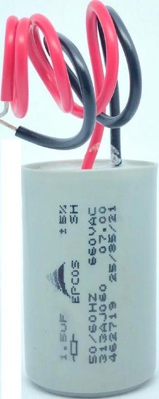 CAPACITOR 1,5UF 660VAC 313AJ060 31X49MM FIO EPCOS