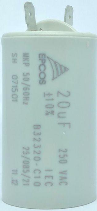 CAPACITOR 20UF 250VAC B32320-C10 FASTON EPCOS