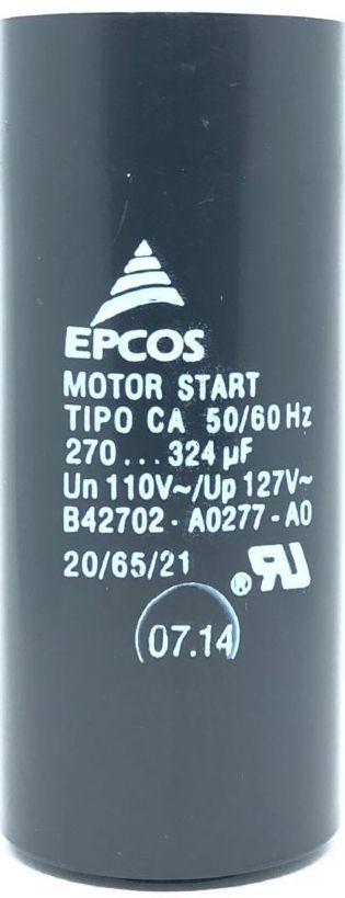 CAPACITOR 270-324UF 110VAC B42702-A0277-A0 EPCOS