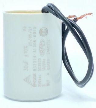 CAPACITOR 30UF 250VCA B32314-A1306-K015 36x51mm TERMINAL FIO EPCOS