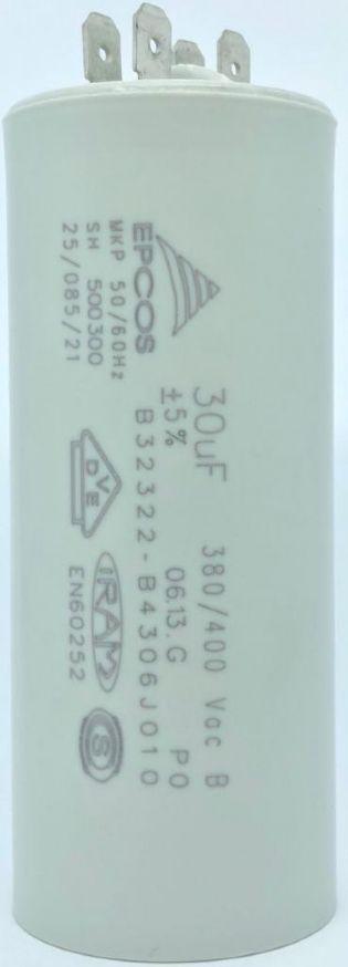 CAPACITOR 30UF 380V/400VCA B32322-D4306-J010 EPCOS