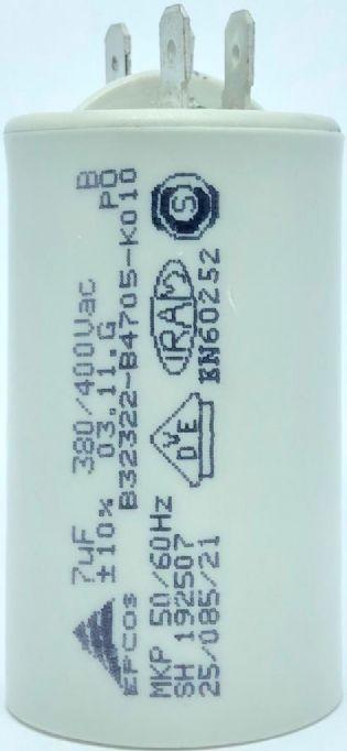 CAPACITOR 7UF 380V/400VCA B32322-B4705-K010 EPCOS