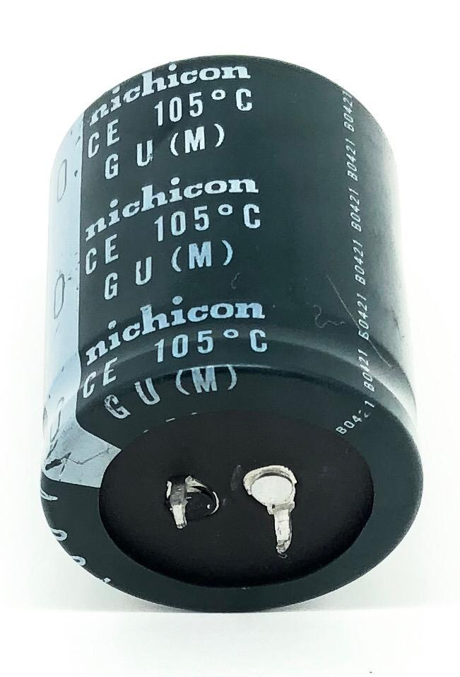 CAPACITOR ELETROLITICO 470UF 400V 105ºC 35X41MM SNAP-IN NICHICON