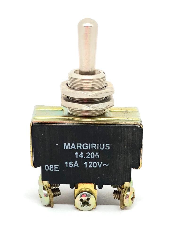 CHAVE ALAVANCA METALICA 03POSIÇÕES (LIGA)-DESL-(LIGA) 14205-A1-B1-P1-Q MARGIRIUS (14205A1B1P1Q)