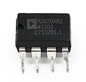 CIRCUITO INTEGRADO AD620ANZ DIP 08 PINOS ANALOG DEVICES