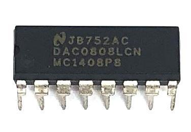 CIRCUITO INTEGRADO DAC0808LCN / MC1408P8 NATIONAL
