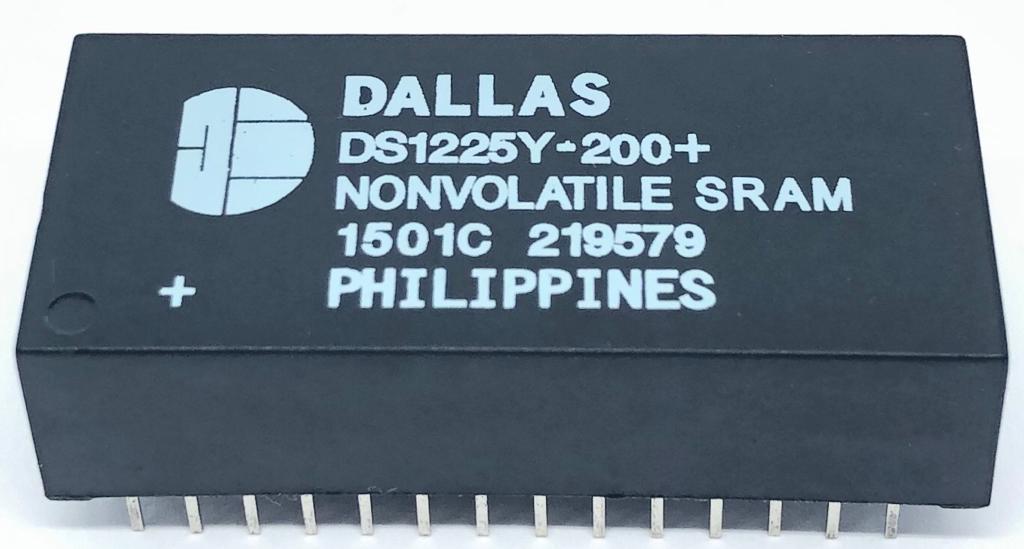 CIRCUITO INTEGRADO DS1225Y-200+ DIP 28 PINOS DALLAS (DS1225Y200)