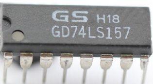 CIRCUITO INTEGRADO GD74LS157 DIP 16PINOS LG SEMICONDUCTOR
