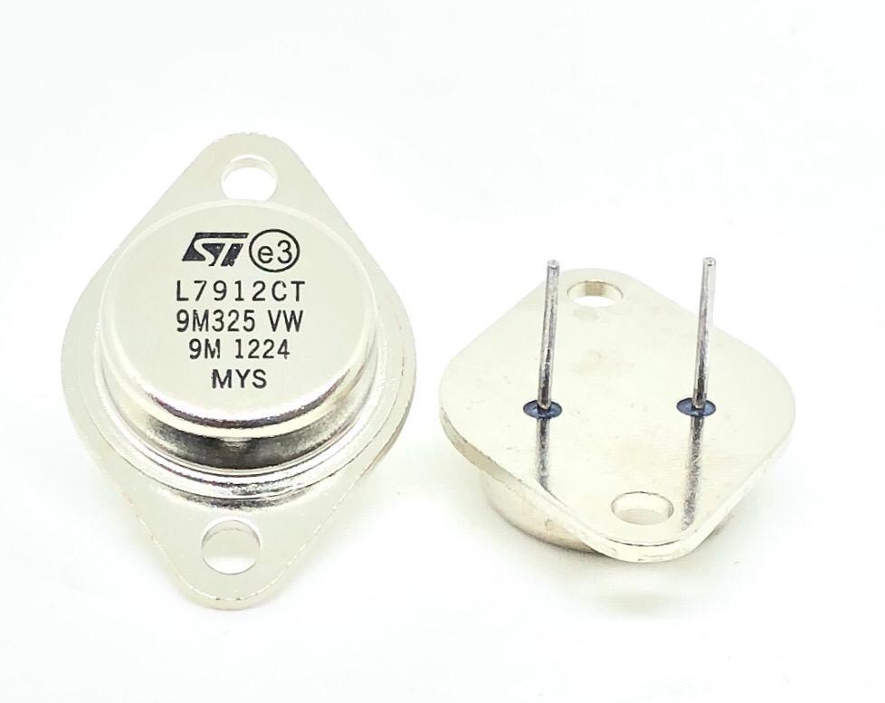 CIRCUITO INTEGRADO L7912CT TO-3 METALICO STMICROELECTRONICS