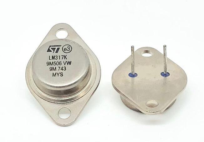 CIRCUITO INTEGRADO LM317K TO-3 METALICO STMICROELECTRONICS