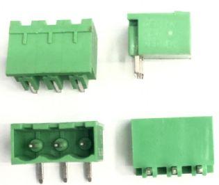 CONECTOR 90º 3VIAS VERDE 2EDG3C DEGSON