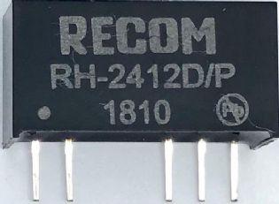 CONVERSOR DC-DC RH-2412D/P RECOM (RH2412DP)
