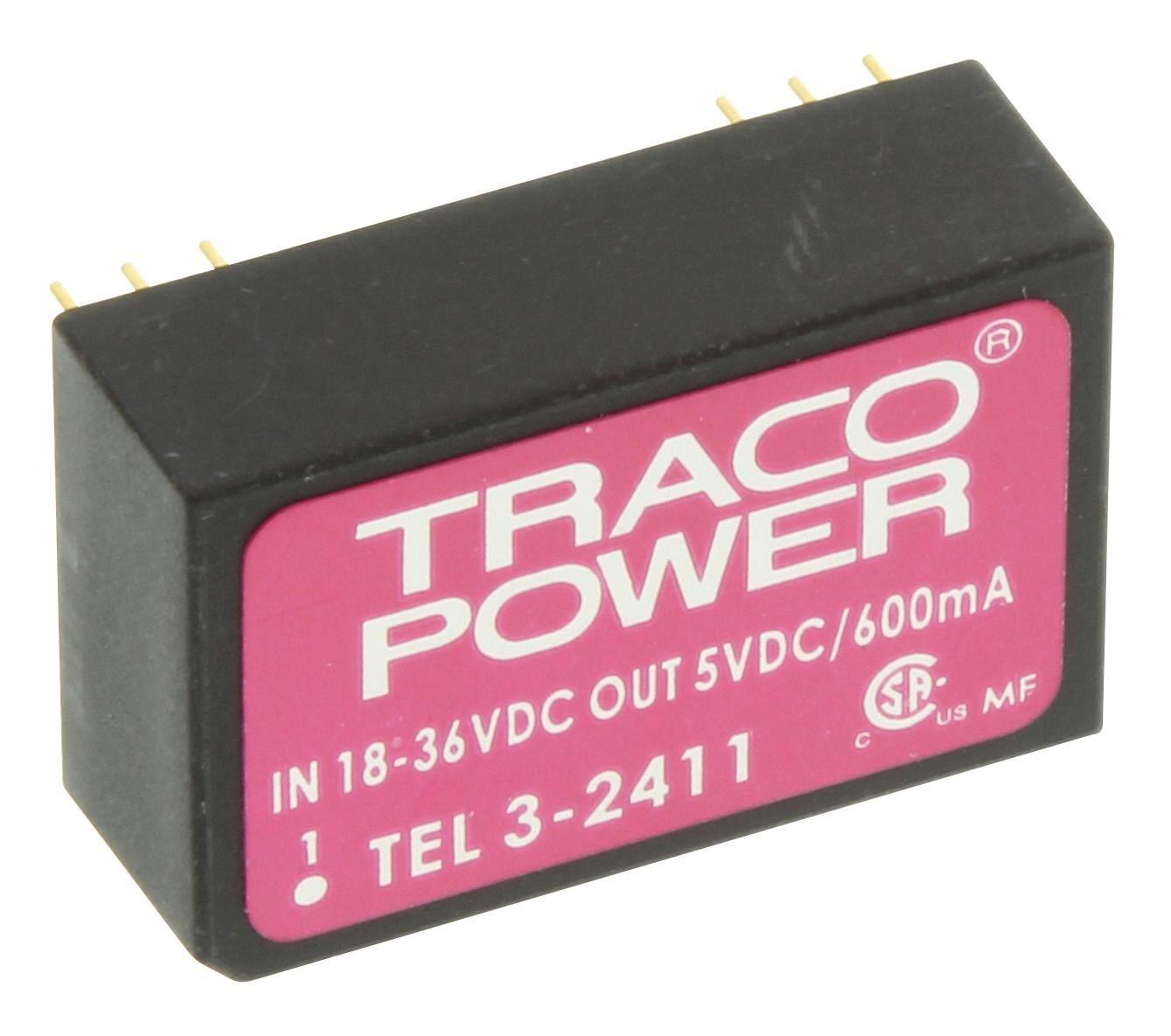 CONVERSOR DC/DC TEL3-2411 TRACO POWER (TEL32411)