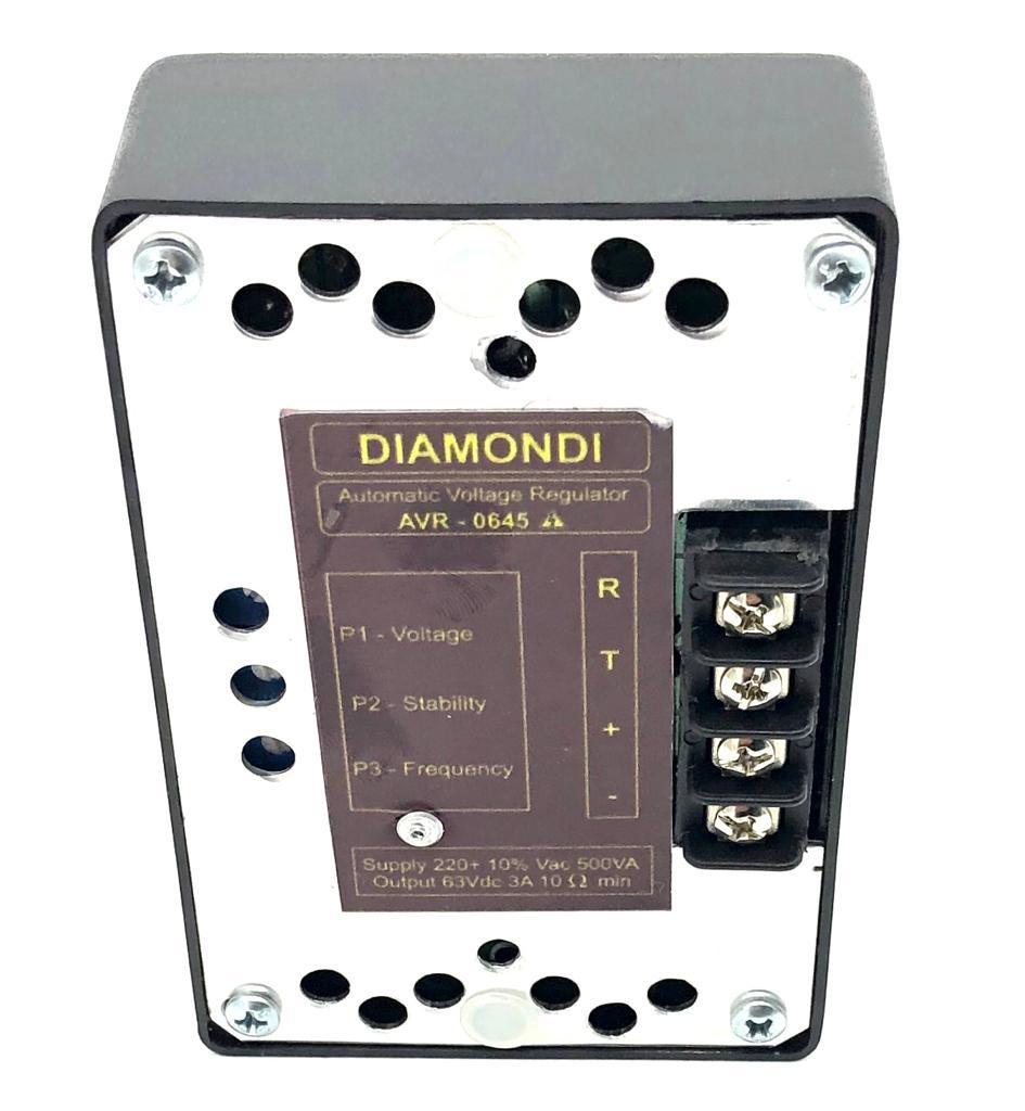 REGULADOR DE TENSAO AVR645 DIAMOND HEIMER