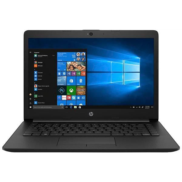 Notebook HP 14-ck0001la Cel 1.1hz 4GB 500GB tela 14 windows 10 - Preto