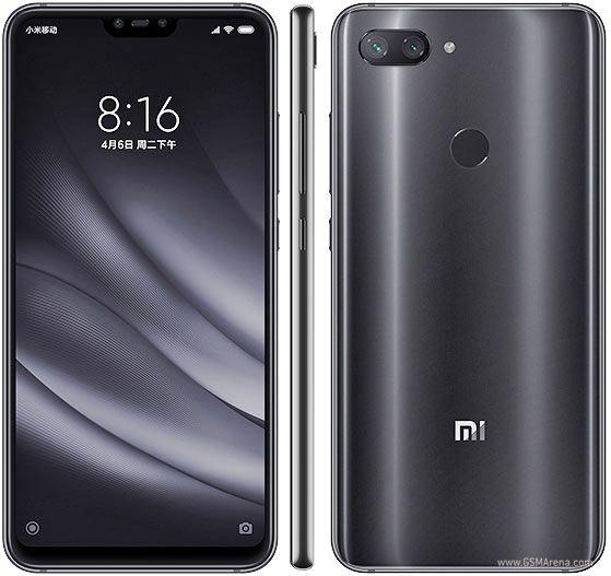 Smartphone Xiaomi Mi 8 Lite 4GB Ram Tela 6.26 64GB Camera Dupla 12+12MP - Preto