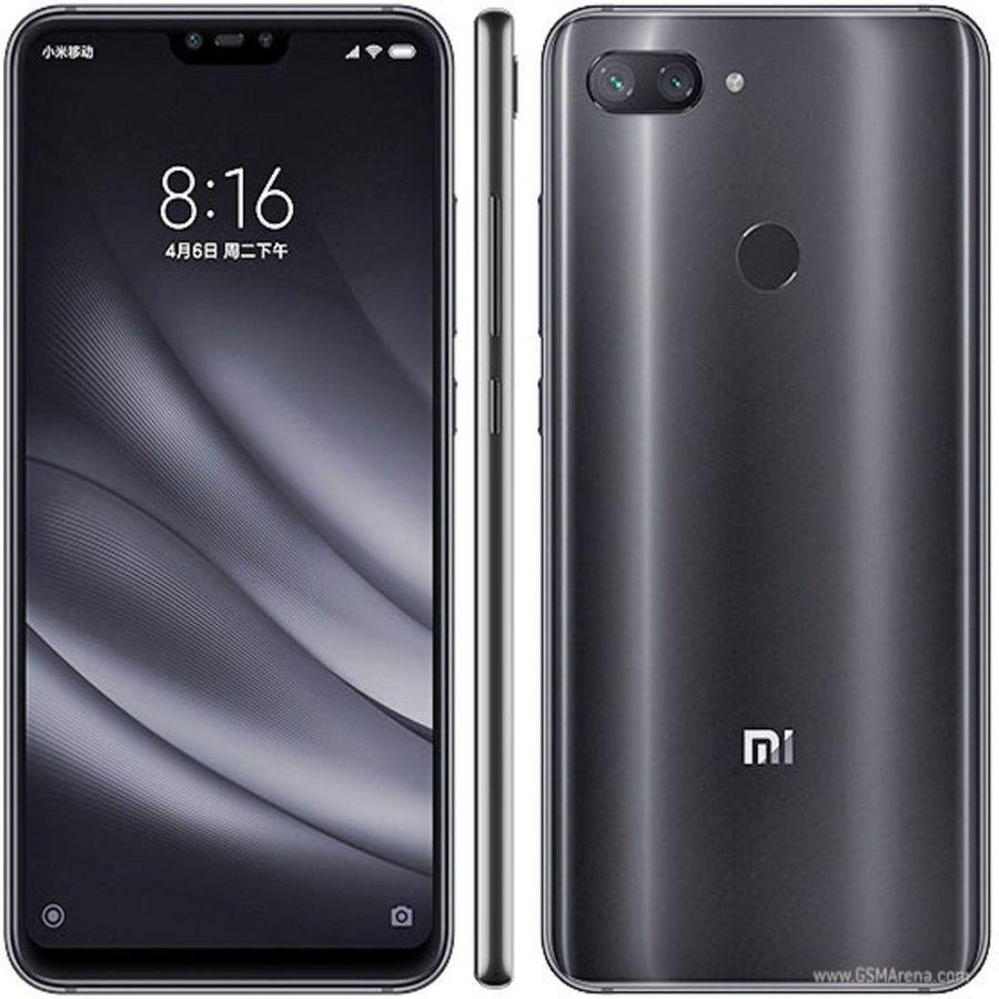 Smartphone Xiaomi Mi 8 Lite 6GB Ram Tela 6.26 128GB Camera Dupla 12+12MP - Preto