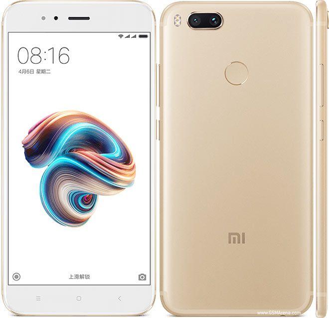 Smartphone Xiaomi Mi A1 4GB Ram Tela 5.5 64GB Camera Dupla 12+12MP - Dourado